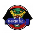 Air Force 864th Bomb Squadron Patch