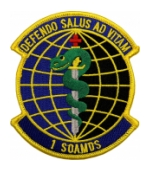 Air Force 1st Special Operations Aerospace Medicine Squadron Patch