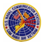 Naval Communication Station Cam Ranh Bay Vietnam Patch