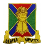 108th Armored Regiment Patch