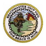Navy Beach Group / Beachmaster Unit Patches