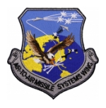 Air Force Air to Air Missile Systems Wing Patches