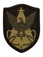 1st Space Brigade Scorpion / OCP Patch With Hook Fastener