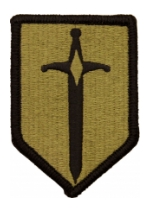 1st Maneuver Enhancement Brigade Scorpion / OCP Patch With Hook Fastener