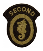 2nd Engineer Brigade Scorpion / OCP Patch With Hook Fastener