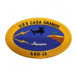 USS Casa Grande LSD-13 Ship Patch