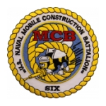 6th Naval Mobile Construction Battalion Patch