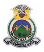 Naval Security Group Raf Edzell Patch