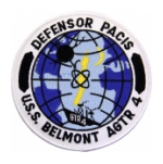 USS Belmont AGTR-4 Ship Patch