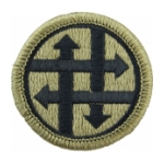 4th Sustainment Command Scorpion / OCP Patch With Hook Fastener