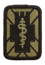 5th Medical Brigade Scorpion / OCP Patch With Hook Fastener