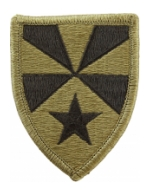7th Army Support Command Scorpion / OCP Patch With Hook Fastener)