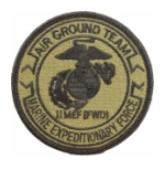 2nd Marine Expeditionary Force Scorpion / OCP Patch With Hook Fastener