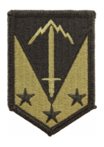 3rd Maneuver Enhancement Brigade Scorpion / OCP Patch With Hook Fastener