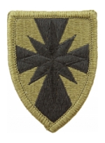 8th Sustainment Command  Scorpion / OCP Patch With Hook Fastener