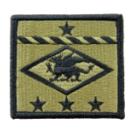 13th Finance Group Scorpion / OCP Patch With Hook Fastener
