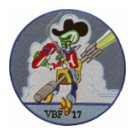 Navy Bomber - Fighter Squadron VBF-17 Patch