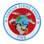 Navy Carrier Strike Group Five Patch