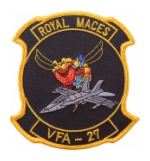 Navy Strike Fighter Squadron VFA-27 (Royal Maces) Patch