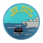 USS Boggs DMS-3 / AG-19 Ship Patch