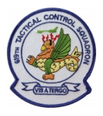 Air Force 619th Tactical Control Squadron Patch