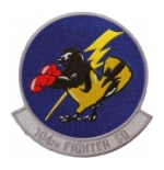 Air Force 104th Fighter Squadron Patch