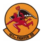 Air Force 107th Fighter Squadron Patch