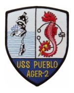 USS Pueblo AGER-2 Ship Patch
