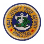 Naval Security Group Activity Homestead Patch