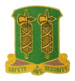 327th Military Police Battalion (Safety And Security) Patch