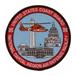 USCG National Capitol Region Air Defense Facility Patch