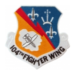 Air Force 104th Fighter Wing Patch