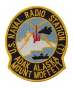 Naval Radio Station Adak, Alaska Mount Moffett Patch