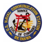 Naval Communication Station Okinawa Patch