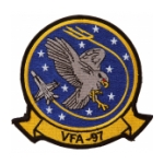 Navy Strike Fighter Squadron VFA-97 Patch