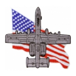 Air Force A-10 Thunderbolt II Flag Patch