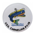 USS Carnelian PY-19 Ship Patch