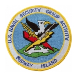 Naval Security Group Activity Midway Island Patch