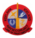 Naval Security Group Activity Keflavik, Iceland Patch