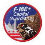 Air Force 121st Fighter Squadron F-16C+ Capitol Guardians Patch