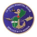 Naval Hospital Guam (Service With Honor) Patch