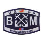USCG Rate BM Boatswain's Mate Patch