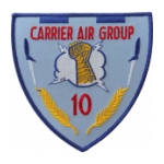 Navy Carrier Air Group CAG-10 Patch