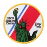 USCG Support Center New York Patch