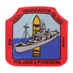 USS Observation Island AGS-154 Ship Patch