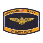 US Navy Pilot Patch