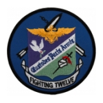 Navy Fighter Squadron VF-12 (Fighting Twelve) Patch
