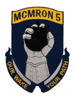 Navy Mine Countermeasures MCMRON 5 Patch