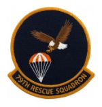 Air Force 79th Rescue Squadron Patch