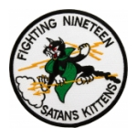 Navy Fighter Squadron VF-19 (Satans Kittens) Patch